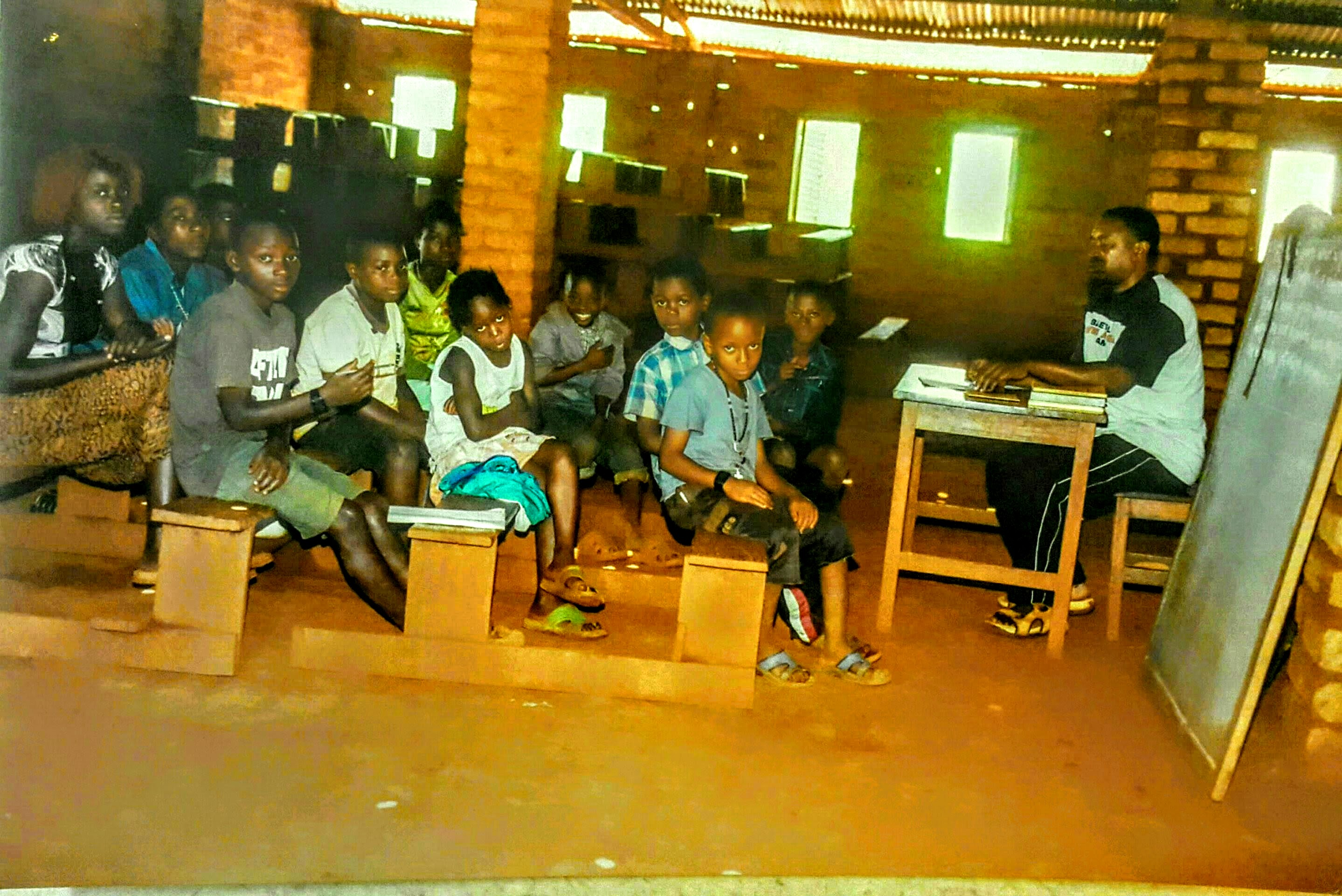Built by a refugee, Enlight's edtech tool bets it can help students hope harder. Christel's classroom in Tanzania.