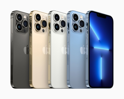The iPhone 13 Pro and Pro Max feature 120Hz display, better cameras
