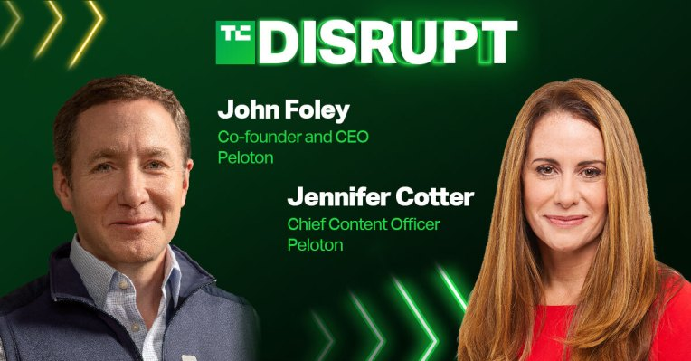 Peloton's CEO and chief content officer are coming to Disrupt – TechCrunch