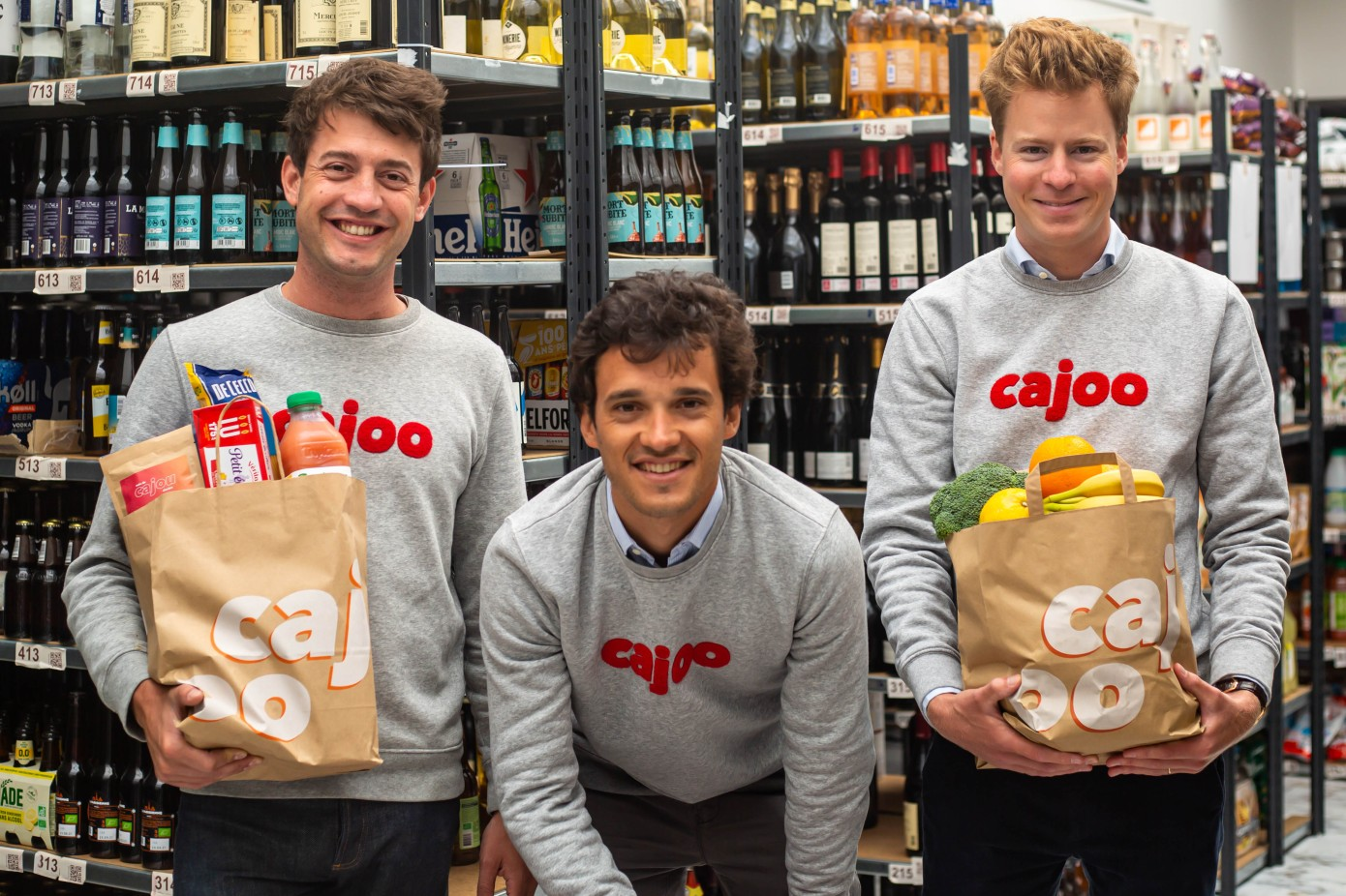 Cajoo raises M for its instant grocery delivery service