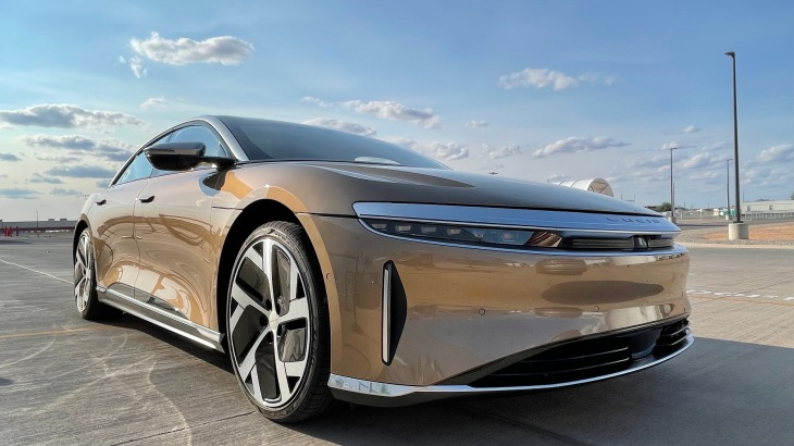 Is This the Future of Luxury? Lucid Air First Drive