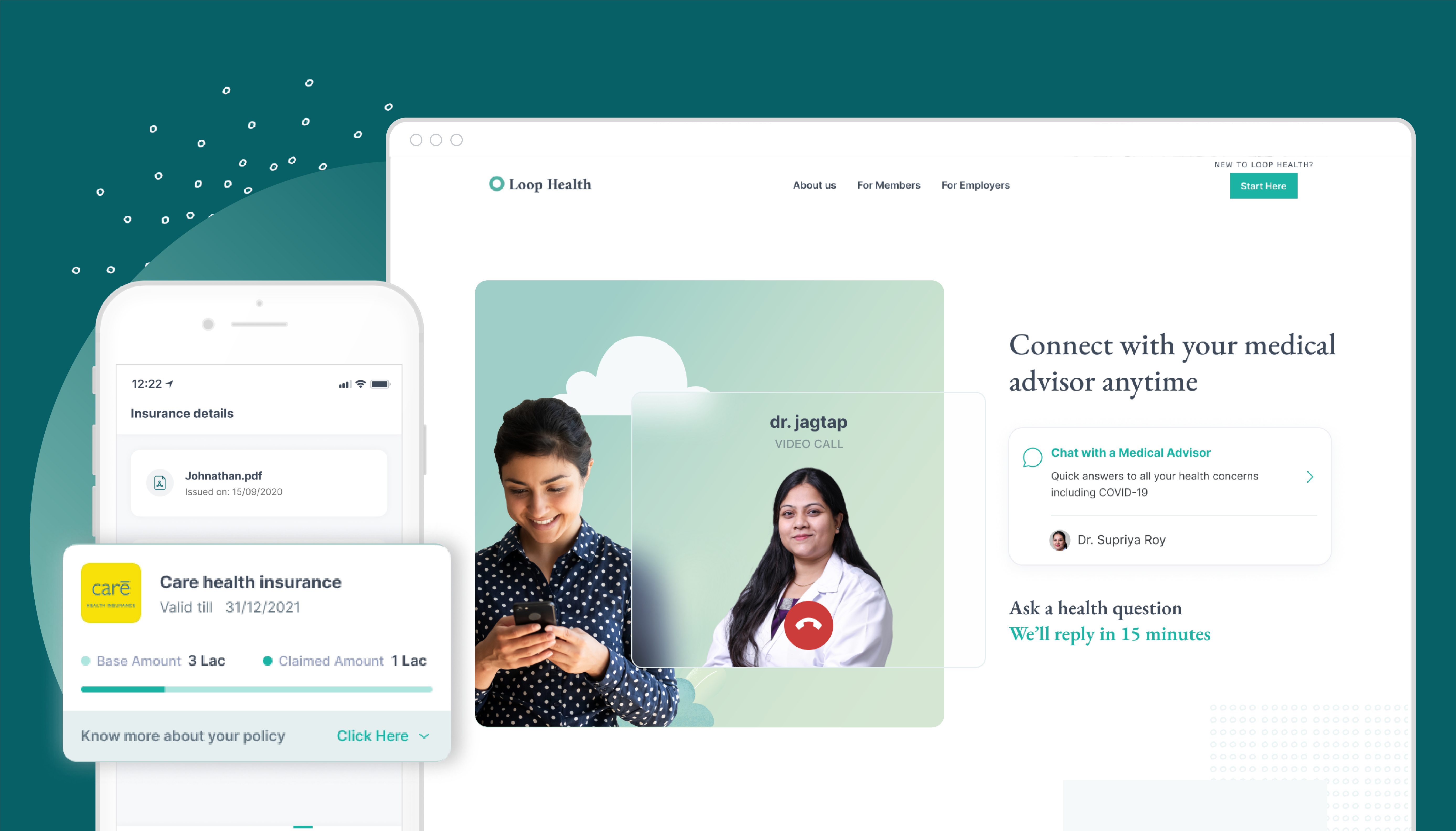 Elevation Capital, General Catalyst lead $12M round into health insurance startup Loop Health