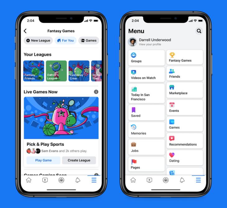 Facebook enters the fantasy gaming market