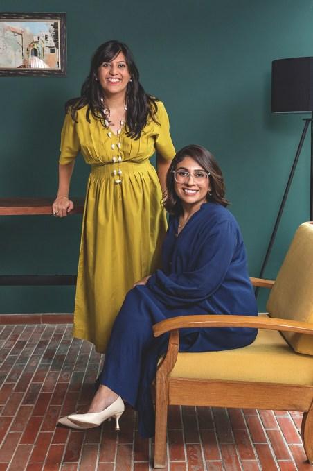 Oraan founders Farwah Tapal and Halima Iqbal