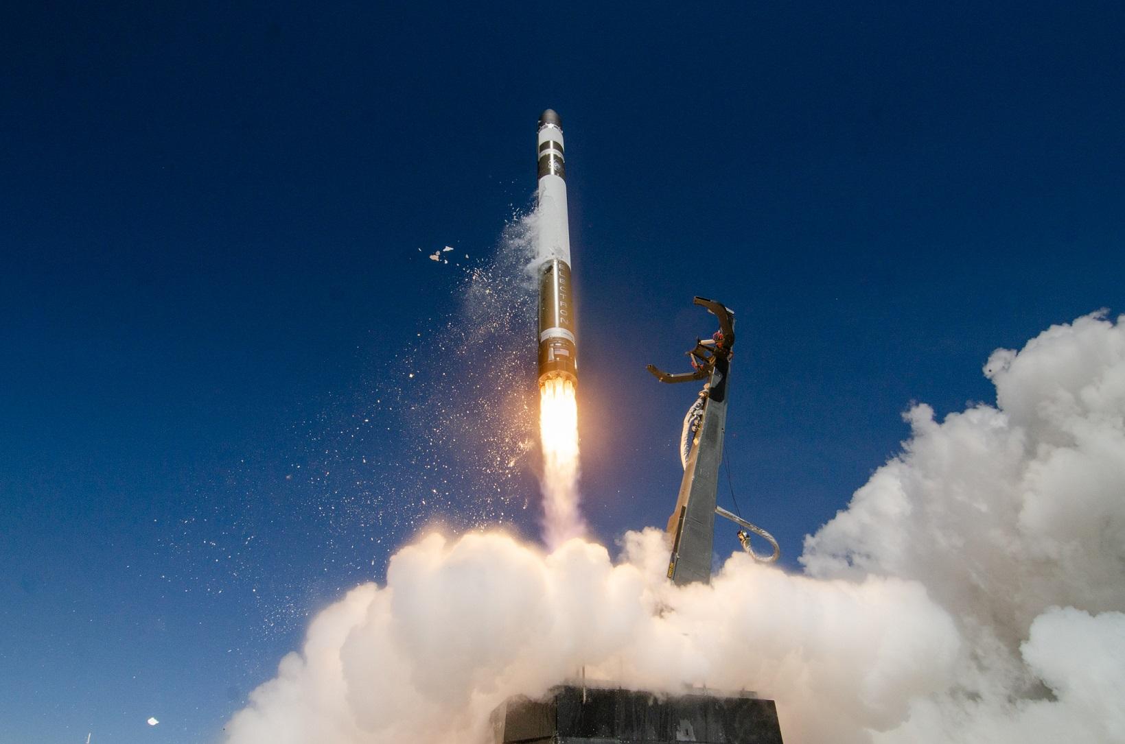 "RocketLab's ""As the Crow Flies"" Electron rocket launch"