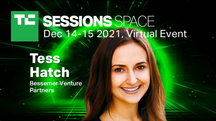 Tess Hatch joins us at TC Sessions: Space this December - TechCrunch