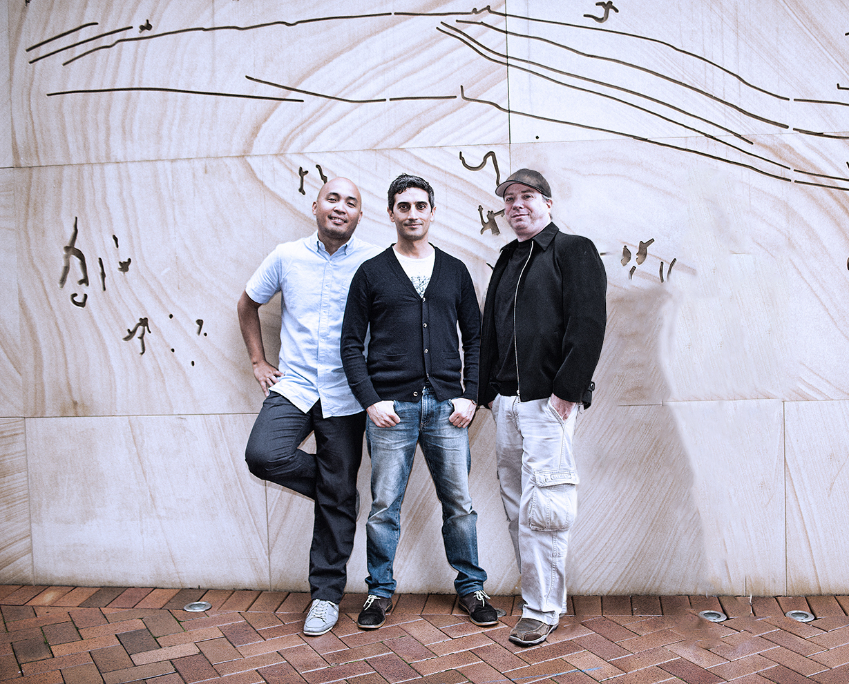 Sydney-based cybersecurity Tide Foundation founders Dominique Valladolid, Michael Loewy and Yuval Hertzogof