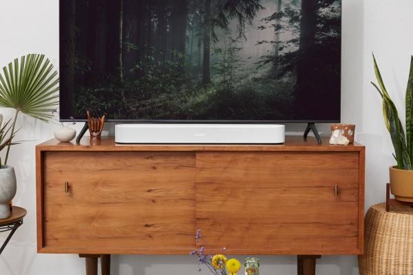 Sonos' second-gen Beam soundbar supports Dolby Atmos