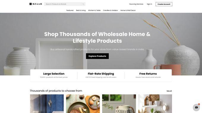Bzaar pockets $ 4 million to allow U.S. retailers to source Indian home goods – TechCrunch