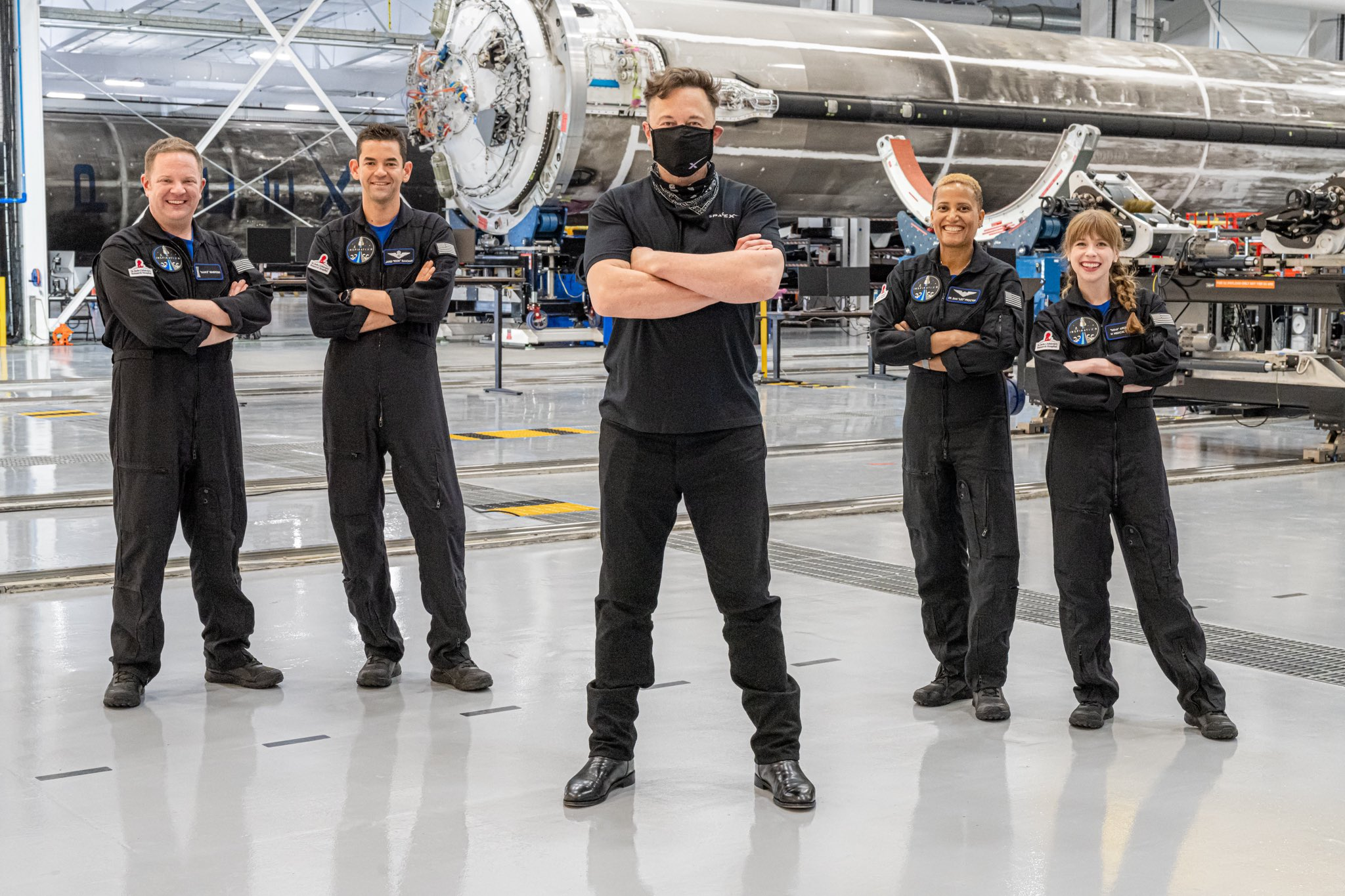 Inspiration20 crew, meet outer space SpaceX's first all civilian ...