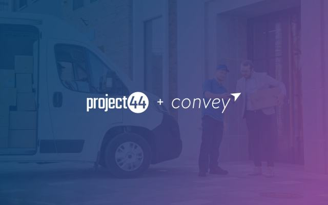 Project44 acquires Convey for $225M to provide end-to-end supply chain visibility