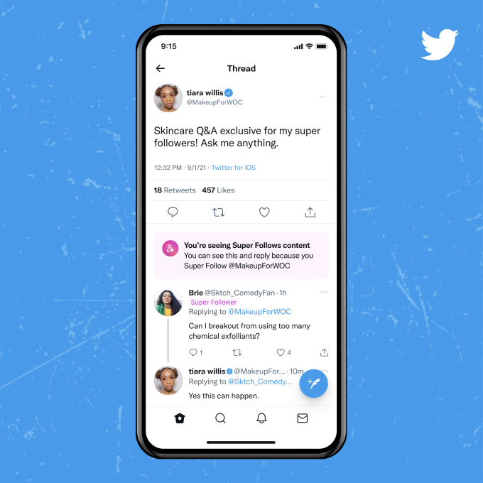 Twitter rolls out paid subscription 'Super Follows' to let you cash in on your tweets