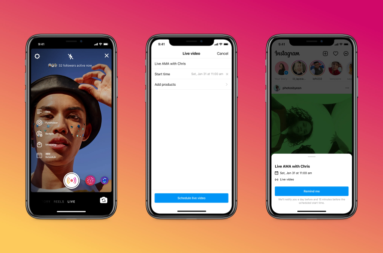 Instagram adds scheduling and 'practice mode' features for Live creators – TechCrunch