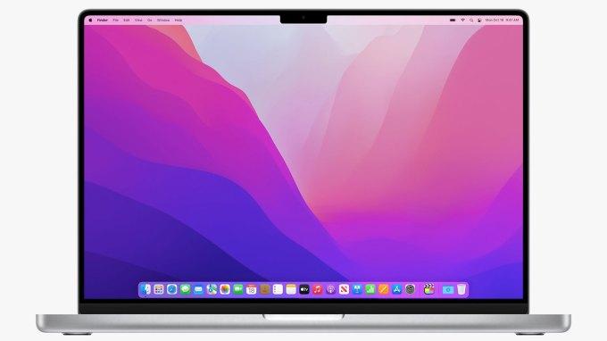 Macbook pro 2021 notch